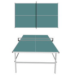 table tennis on white vector image