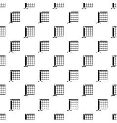 tennis net pattern seamless vector image