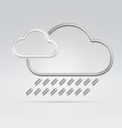Weather rain vector
