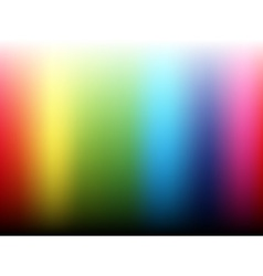 Rainbow gradient background vector image vector image