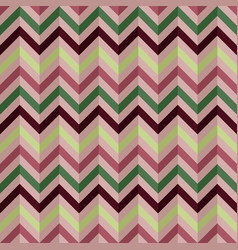 abstract seamless geometric retro zigzag pattern vector image