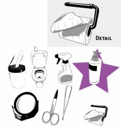 House objects vector