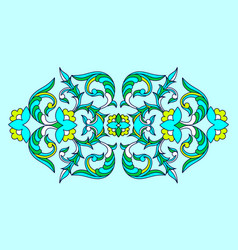pattern in ethnic national vector image
