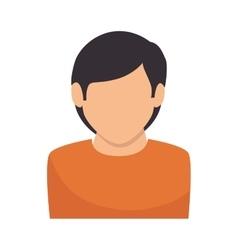 Profile avatar person male vector