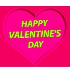 Valentine heart vector