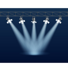 Floodlight vector image