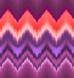Seamless ikat wallpaper vector image vector image