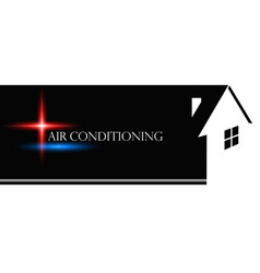 air conditioner for home vector image