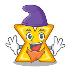 Elf character cartoon multiply sign for logo vector
