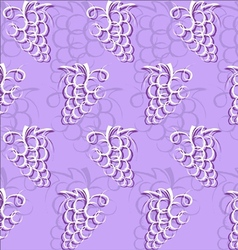 Grape abstract pattern vector