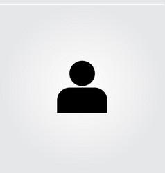 Man icon template design vector