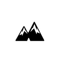 Mountain logo icon or symbol element isolated vector