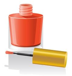 Nail polish 01 vector