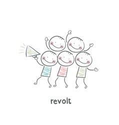 Revolt vector