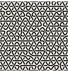 Seamless triangle overlapping line pattern vector