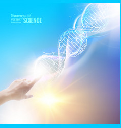 the science concept vector image