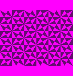 Abstract geometric pattern with triangles and vector