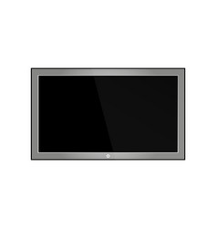 empty lcd screen plasma displays or tv for your vector image