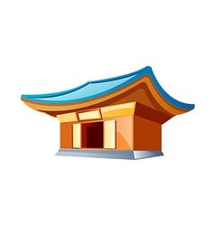 Icon temple vector