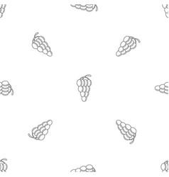 Mellow grape pattern seamless vector