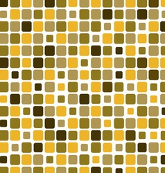 Mosaic with square green background vector image