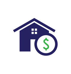purchase home icon vector image
