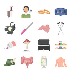 hunting education art and other web icon in vector image