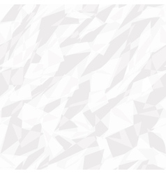 seamless texture of white crumpled paper vector image vector image