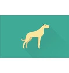 Big dog icon vector image