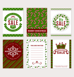 Christmas banners - discount greeting and vector