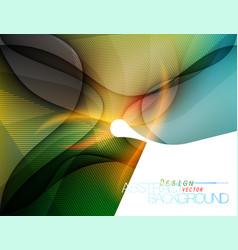 Colored shape design vector