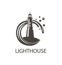image of lighthouse vector image