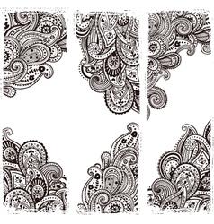 Beautiful Indian paisley vector image