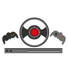 Game controller vector image