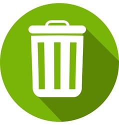 Eco Flat Icon vector image