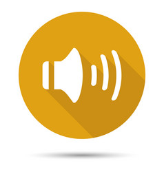 audio icon vector image