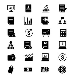 Business Icons 2 vector