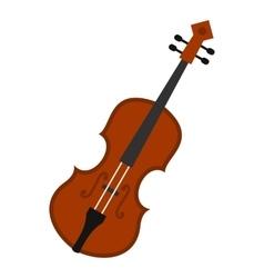 Cello icon flat style vector image