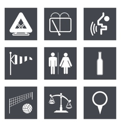 Icons for Web Design set 45 vector