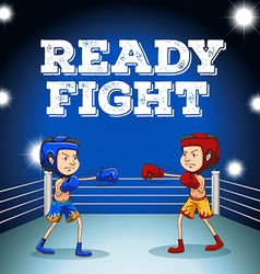 Read to fight design vector image vector image