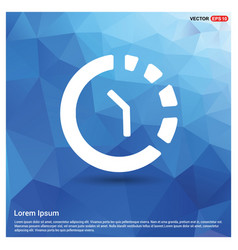 Repeat time icon vector