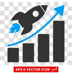 Rocket Startup Eps Icon vector