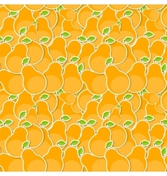Seamless Pattern Background from Pear vector image