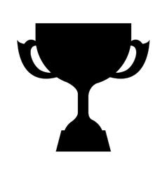 Trophy award icon vector