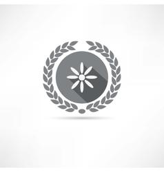 camomile icon vector image vector image