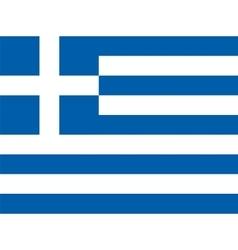 flag of Greece vector image