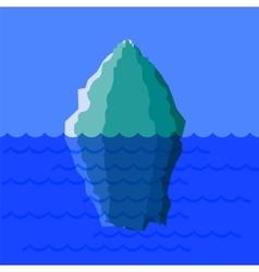 Big Snow Iceberg vector image