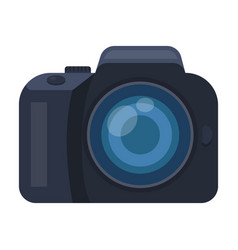 camera detective camera for shooting the scene vector image