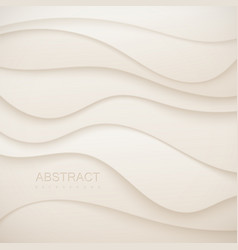 Abstract paper cut background vector
