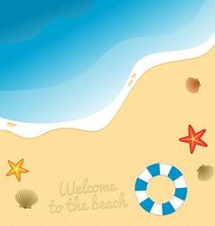 Beach graphic vector